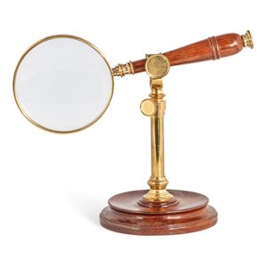 Authentic Models Magnifying Glass with Stand