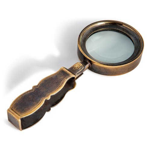 Authentic Models Based on Vintage Travel Magnifier
