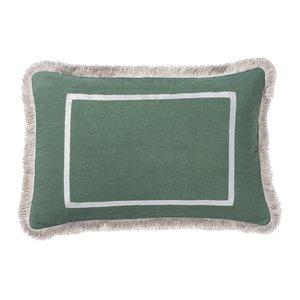 Palais Cushion Grace Green Grey