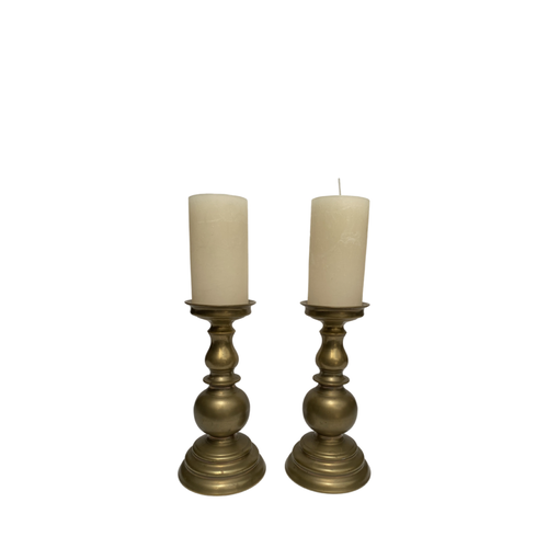 Antique Candle Holders Set of 2