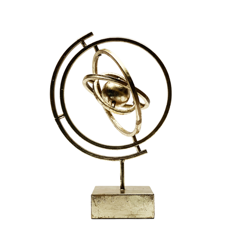 Sculpture Dynamic Gold
