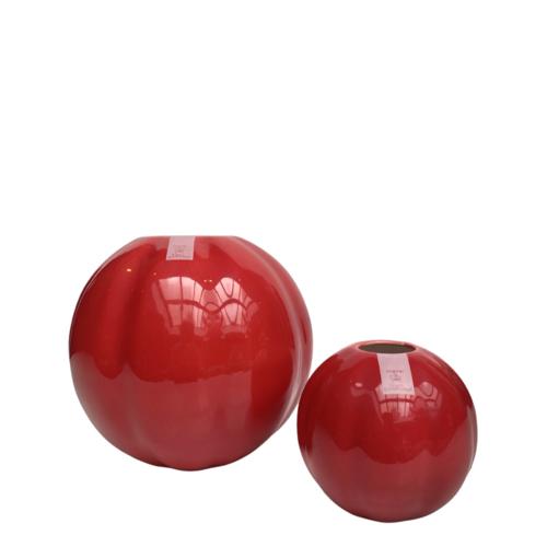 Soft Red Vases set of 2