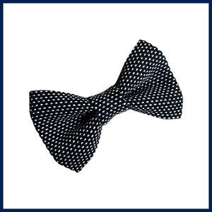 Renate Nederpel Bow Tie Black & White