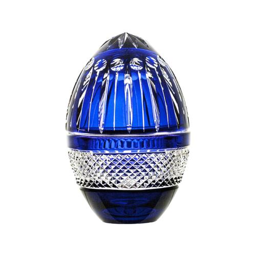 Polish Crystal Crystal Blue Egg