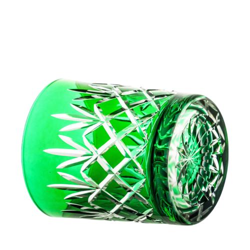 Polish Crystal Green Crystal Set of 6