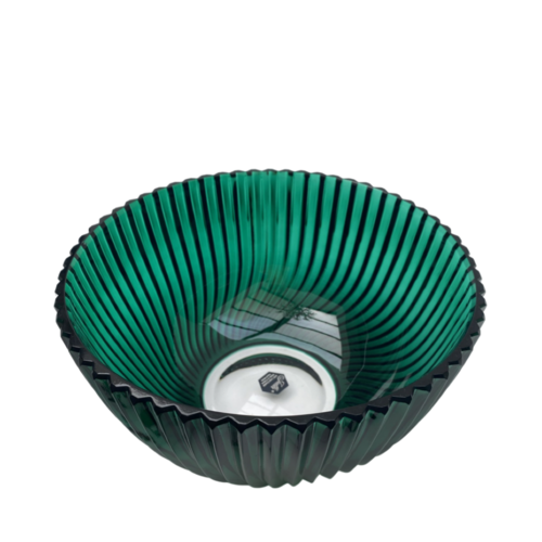 Polish Crystal Crystal Bowl Green