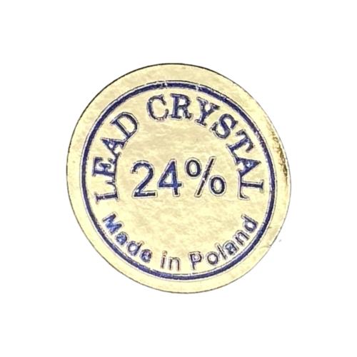 Polish Crystal Champagne glazen Capua set of 6
