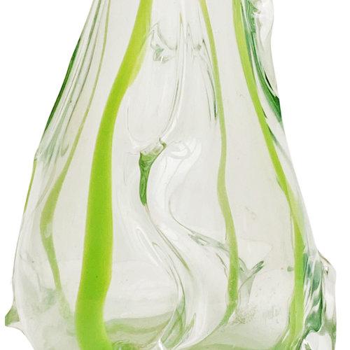 Entrepôt Holland Collection Art Nouveau Vintage Vase Green
