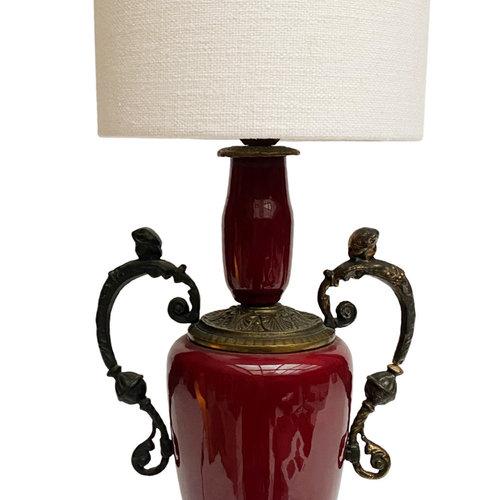 Vintage Collection Bordeaux Vintage Lamp