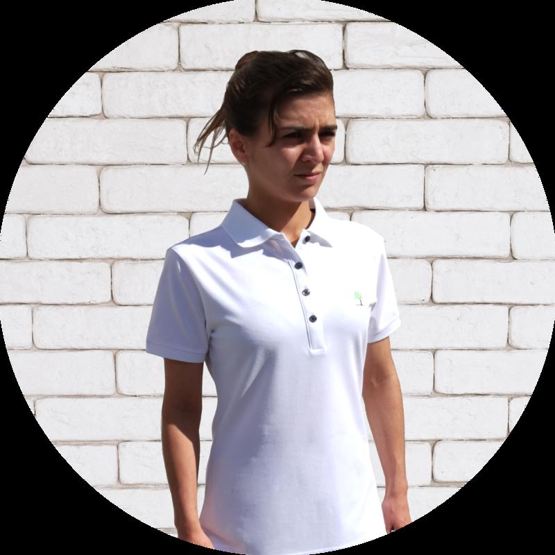 Chemise de polo Lindaren pour femmes
