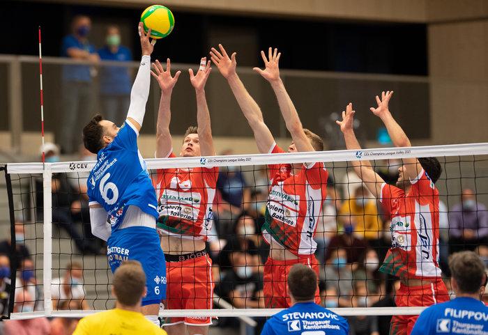 Björn Höhne, ein ganz besonderer Volleyballspieler vom Amriswil Team