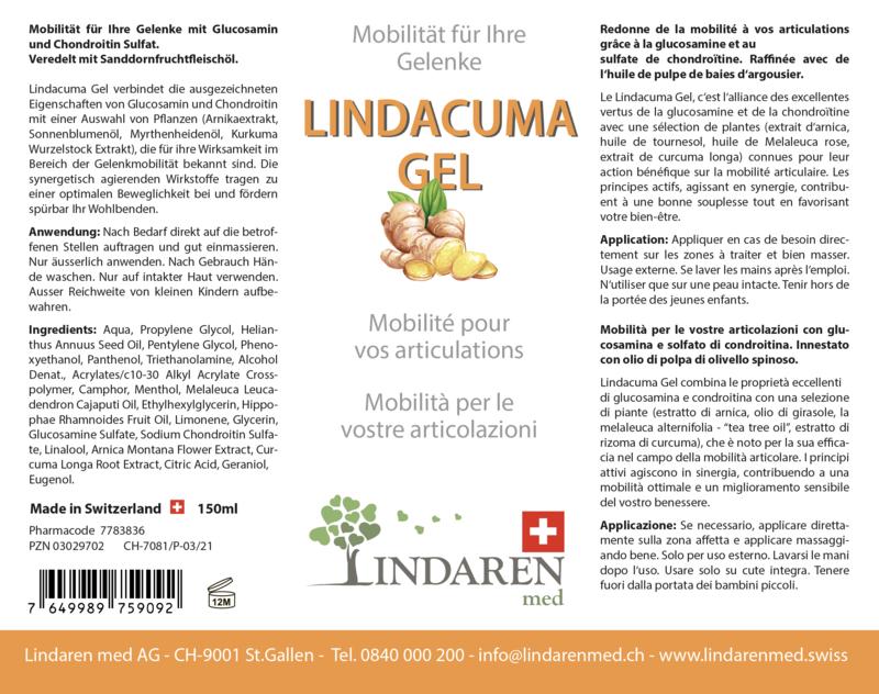 Lindacuma Drops & Gel