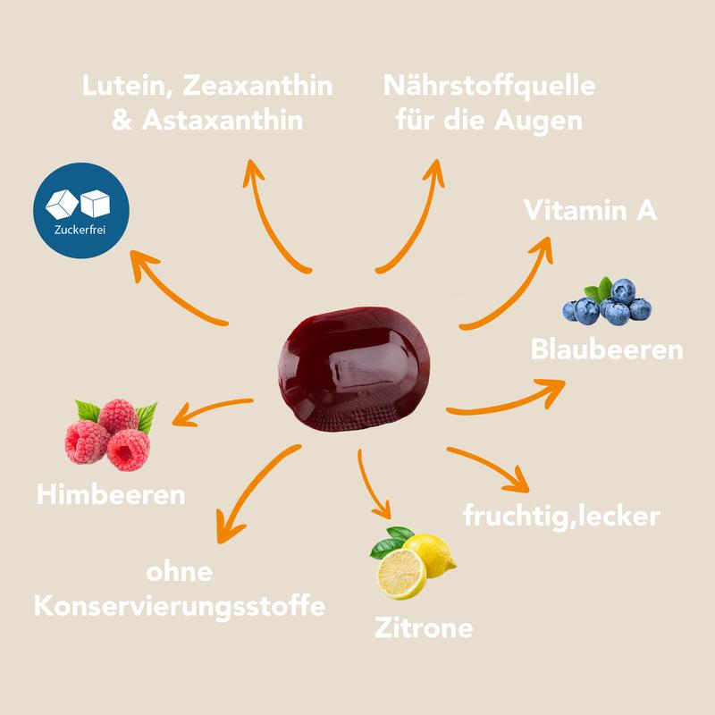 Optik Light Gel Drops - Senza zucchero con sapore di frutta