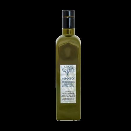 Hergetos Bottiglia da 0,75 l di olio d'oliva Hergetos