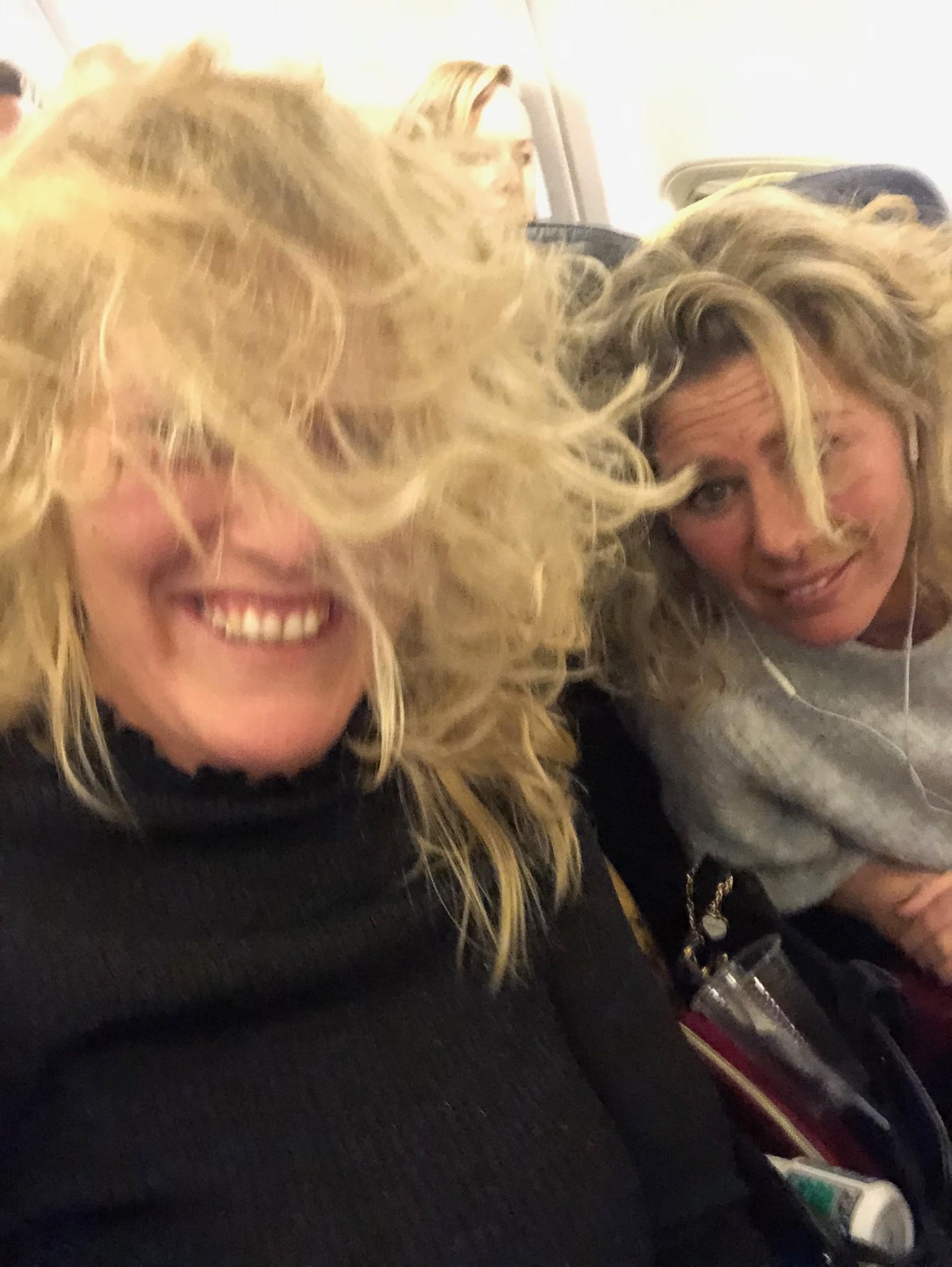 """Onderweg naar Italië, een """"turbulent"""" vluchtje"""