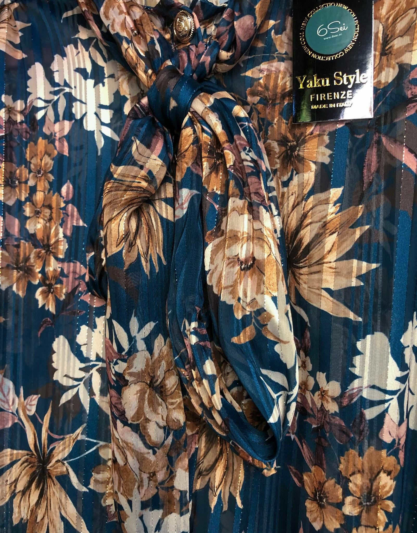 Blouse bloemenprint Camilla