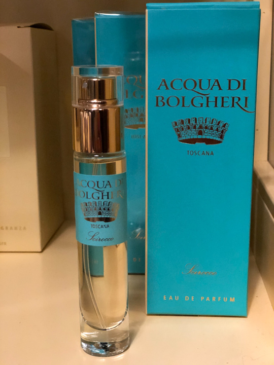 Acqua di Bolgheri Scirocco parfum, tasverstuiver