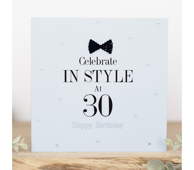 Celebrate in style at 30 happy birthday