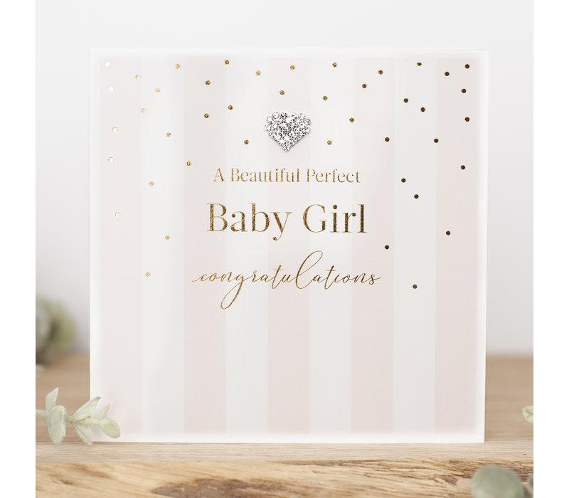 A beautiful perfect baby girl, congratulations