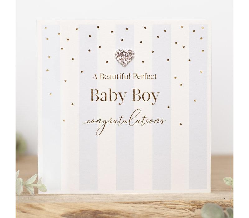 A beautiful perfect baby boy, congratulations