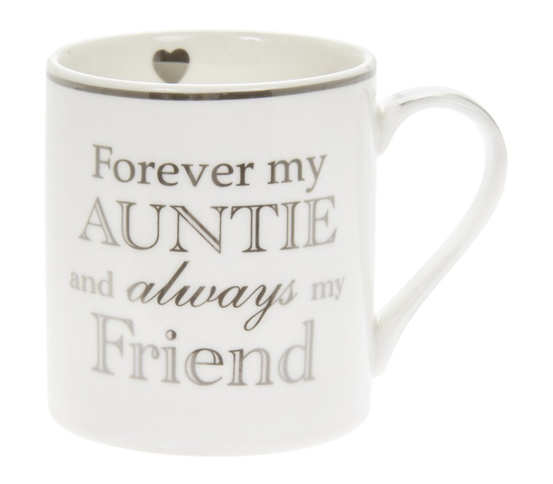 Forever my auntie and always my friend