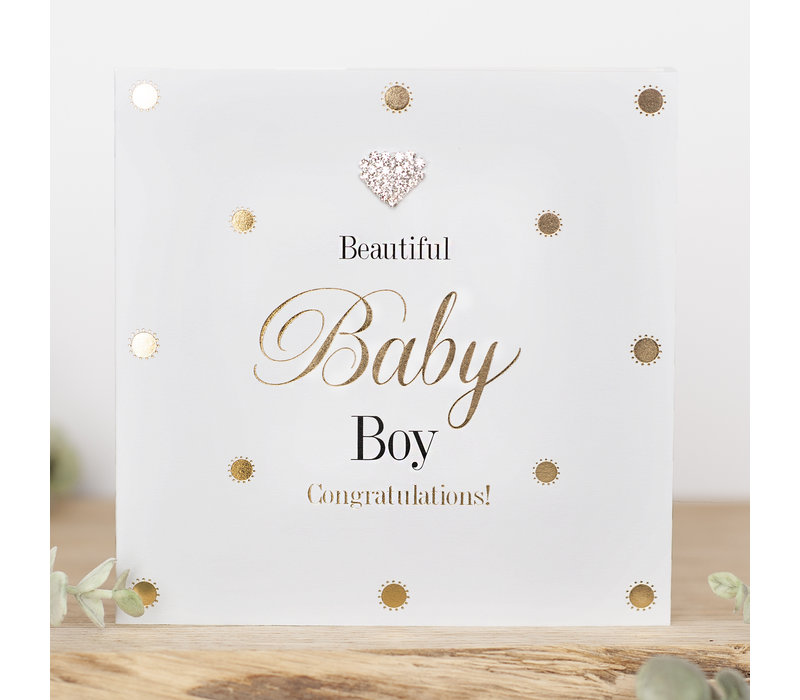 Beautiful baby boy congratulations!