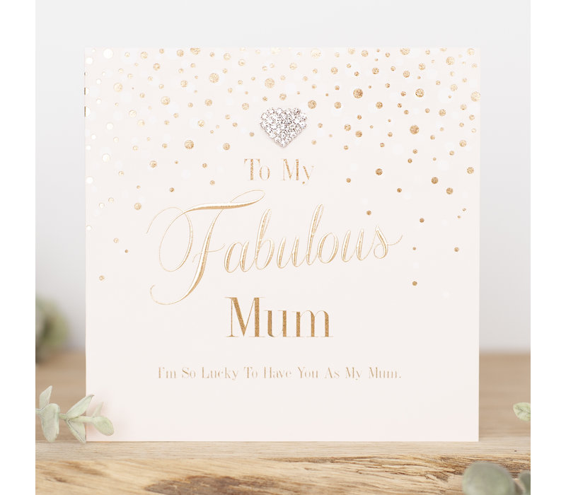 To my fabulous mum i'm so lucky to have you as my mum