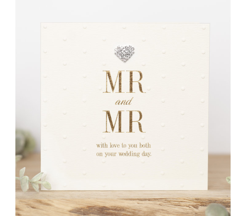 MR&MR With love to you both on your wedding day