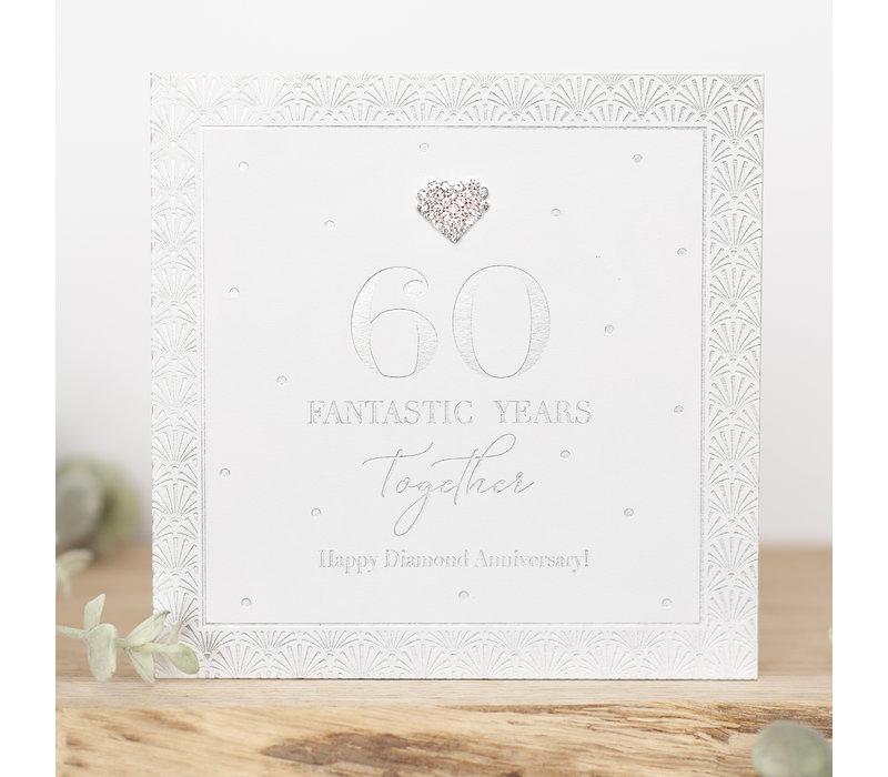 60 fantastic years together happy diamond anniversary