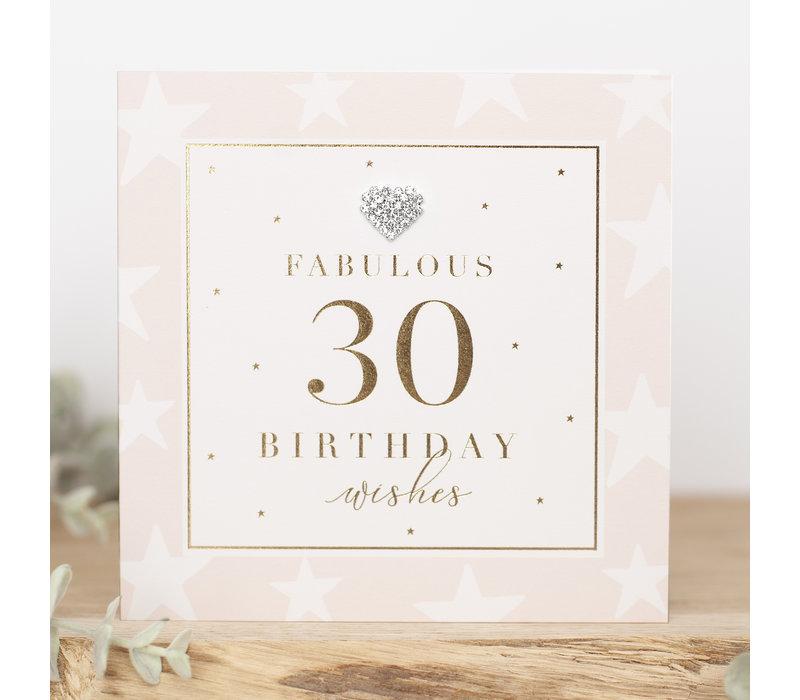 FABULOUS 30 birthday wishes
