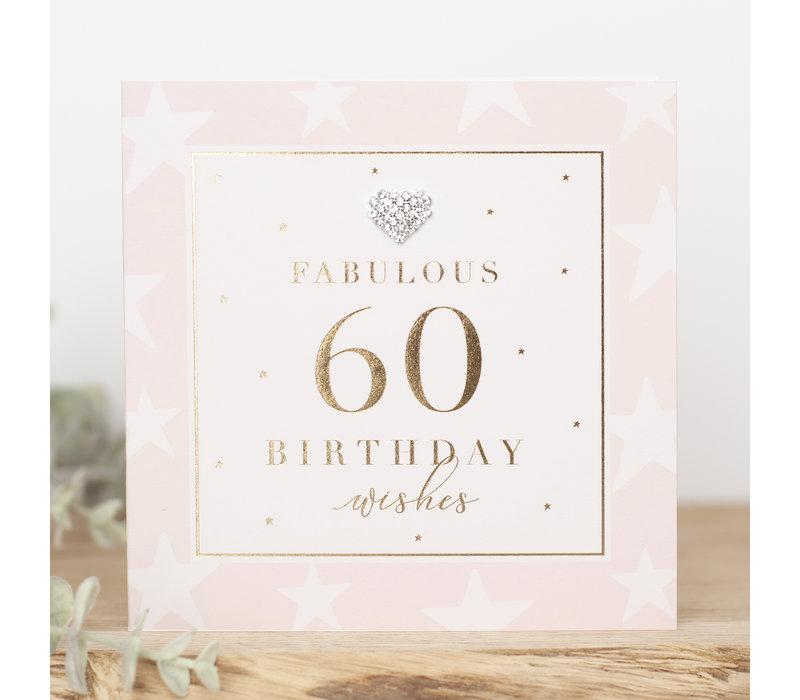 FABULOUS 60 birthday wishes