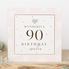 TOUCH OF GOLD WONDERFUL 90 birthday wishes