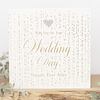 TOUCH OF GOLD With love on your wedding day happily ever after