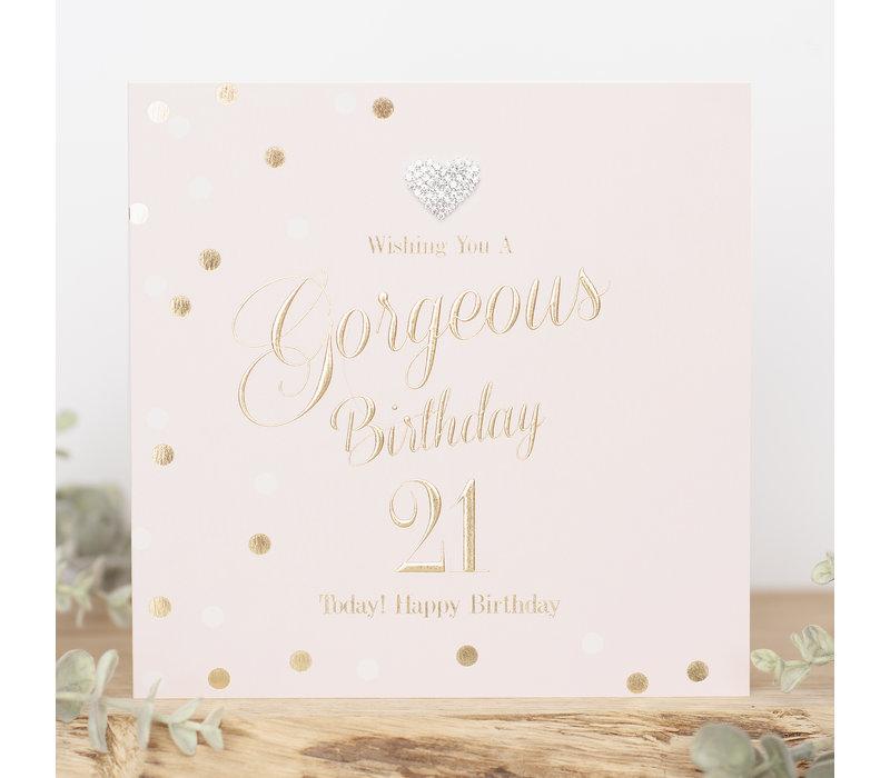 Wishing you a gorgeous birthday21 today! Happy birthday