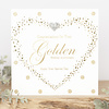 TOUCH OF GOLD Congratulations on your golden anniversary, enjoy your special day