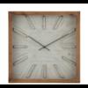 J-Line Vierkante houten klok