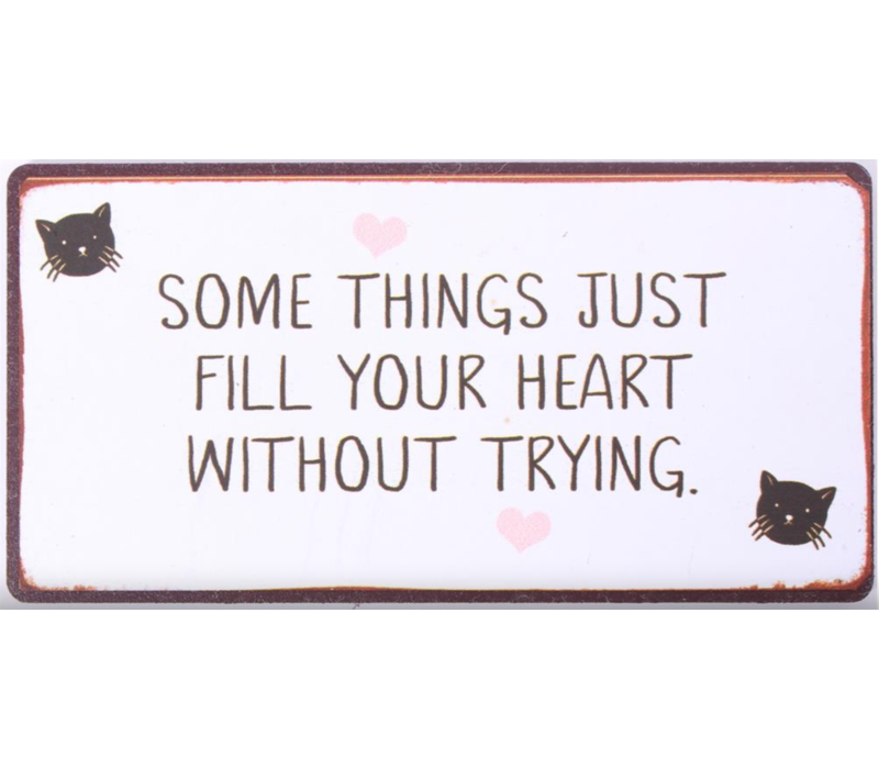 Some things just fill your heart without trying