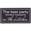 The best party always happens in the kitchen