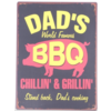 Dad's world famous BBQ chillin' & grillin' stand back, dad's cooking