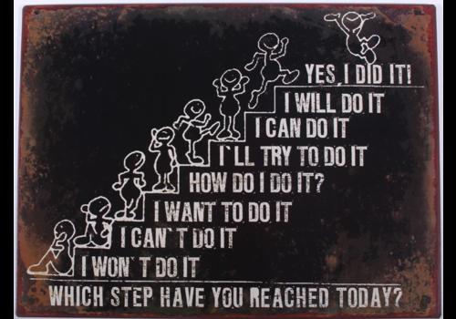 STEPS OF ACHIEVEMENT