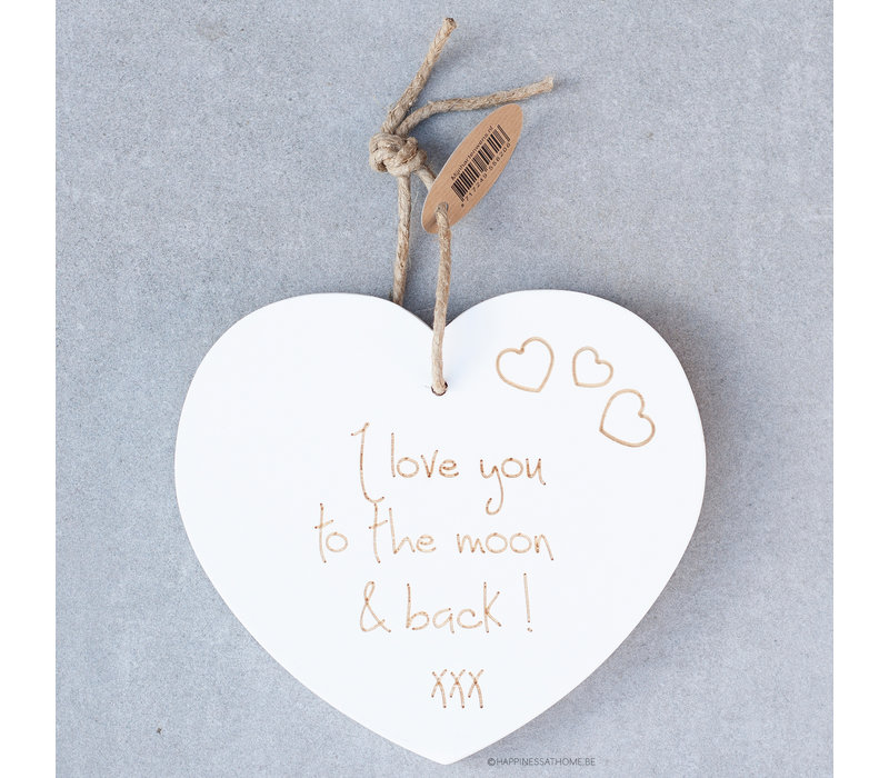 I love you to the moon & back! Xxx