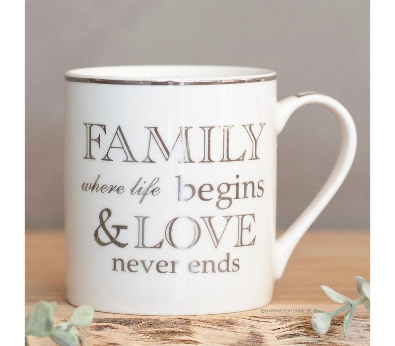 Family where life begins & love never ends