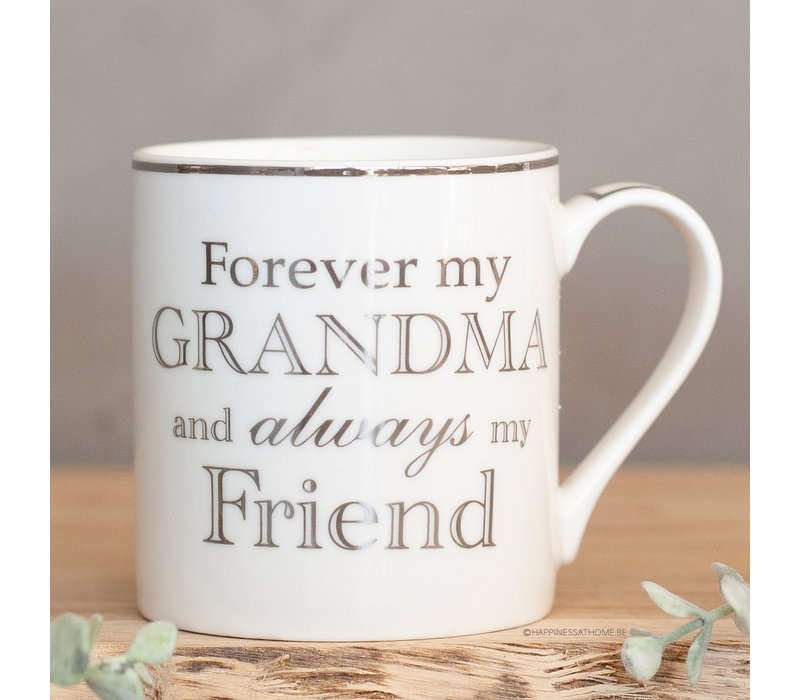 Forever my grandma and always my friend