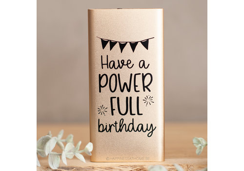 POWER FULL BIRTHDAY
