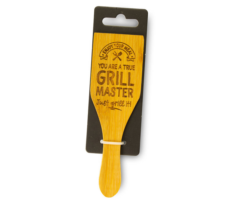Enjoy your meal - You are a true grill master - just grill it!