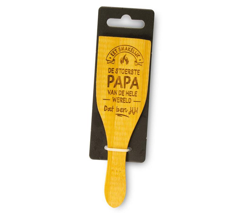 Eet smakelijk - De stoerste papa van de hele wereld - dat ben jij!