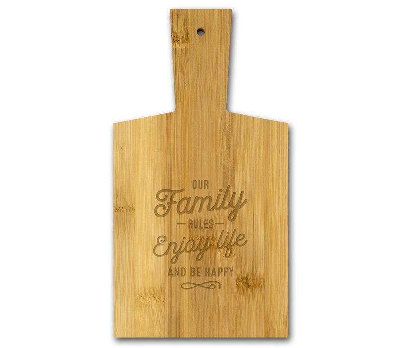 Our family rules - Enjoy life and be happy