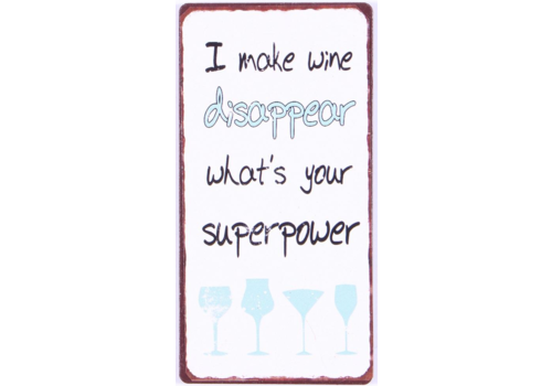 MAKE WINE DISAPPEAR