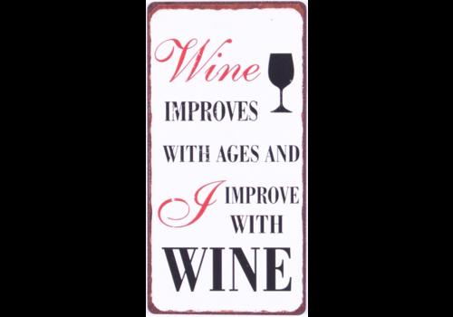 WINE IMPROVES