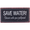 Save water! Shower with your girlfriend